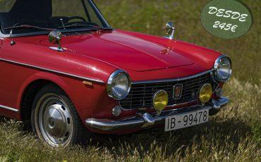 Fiat 1500 Spider rojo