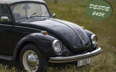 Volkswagen Escarabajo Cabrio 1302 S Negro
